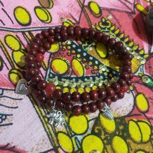 Bracelet double breloques