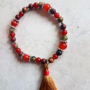 Bracelet esprit Mala «Vitalité & équilibre»