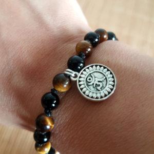 Bracelet homme «Force et protection»