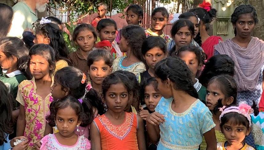 L'Association Les enfants des rues de Pondichéry