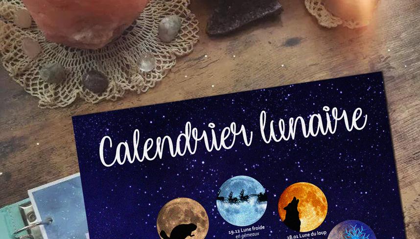 Calendrier des lunes 2021